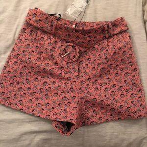 NWT Topshop high waisted shorts